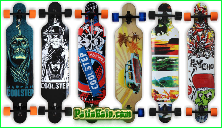 van truot longboard, longboard coolstep 14