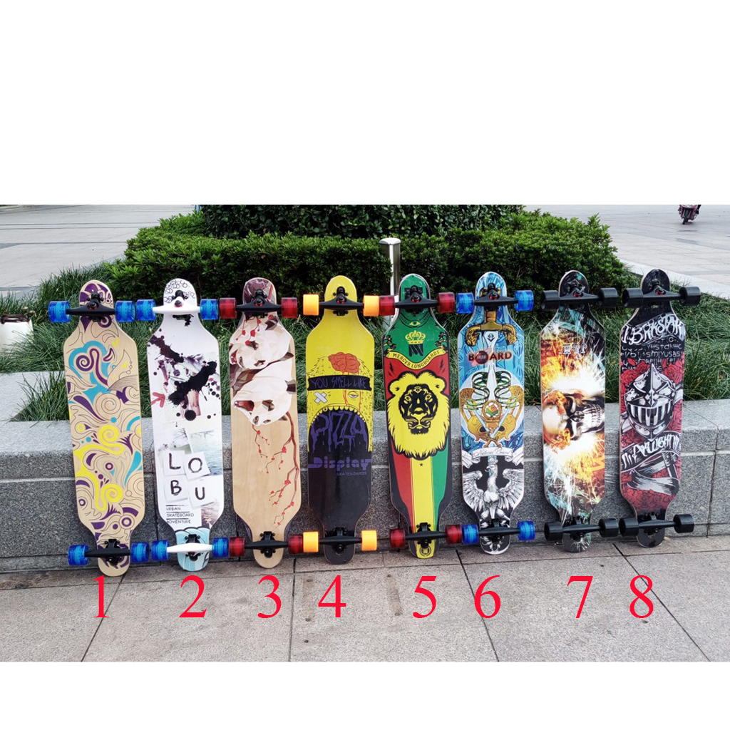 Ván Trượt Longboard Droup Thought new