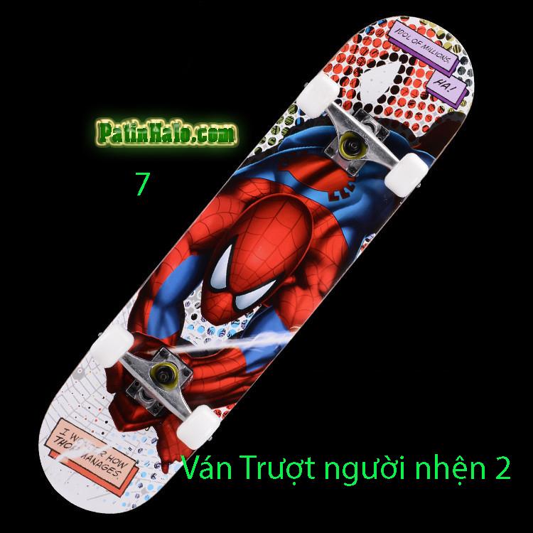 Ván Trượt skateboard người nhện