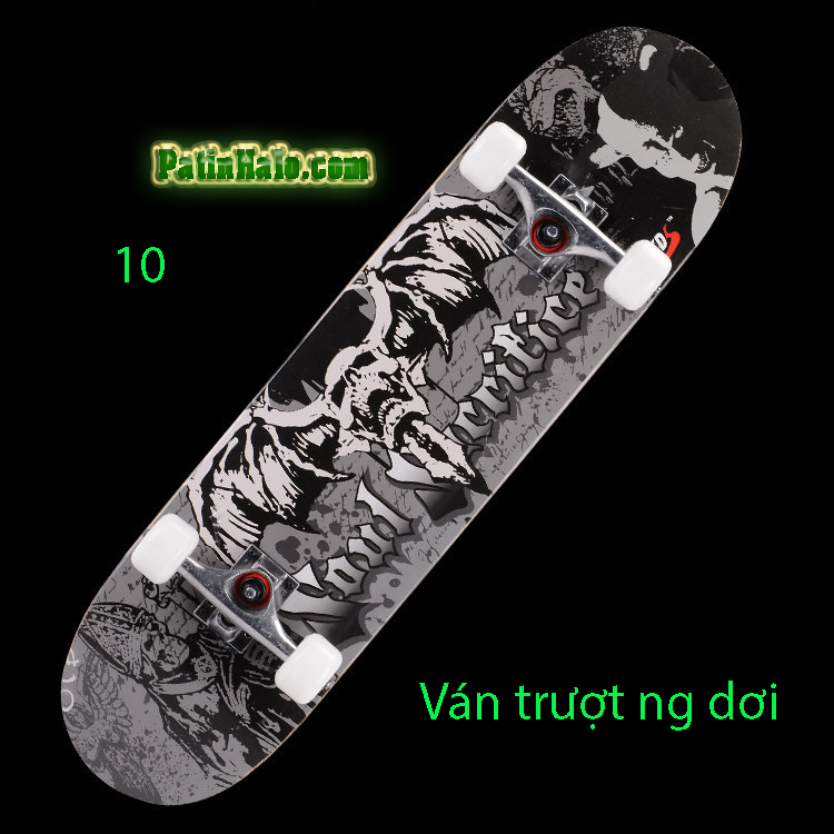 Ván Trượt skateboard đầu lâu