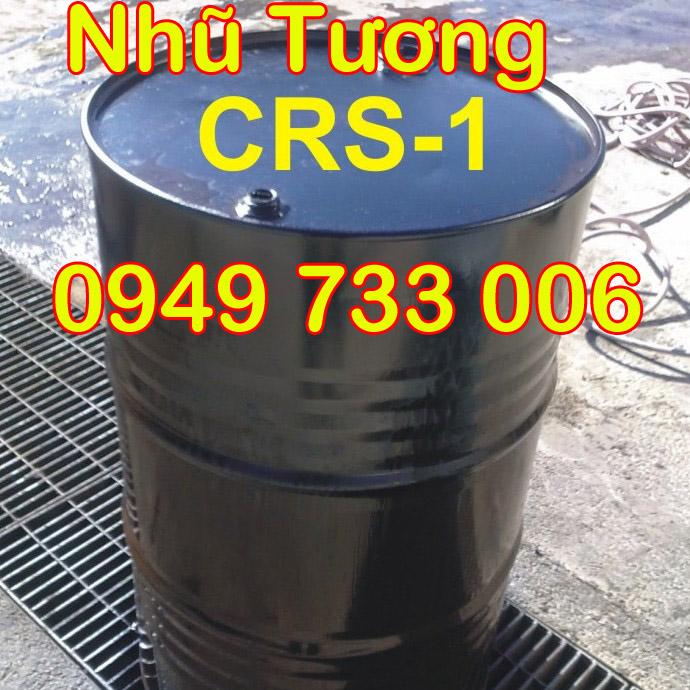 nhũ tương nhựa đường CRS-1