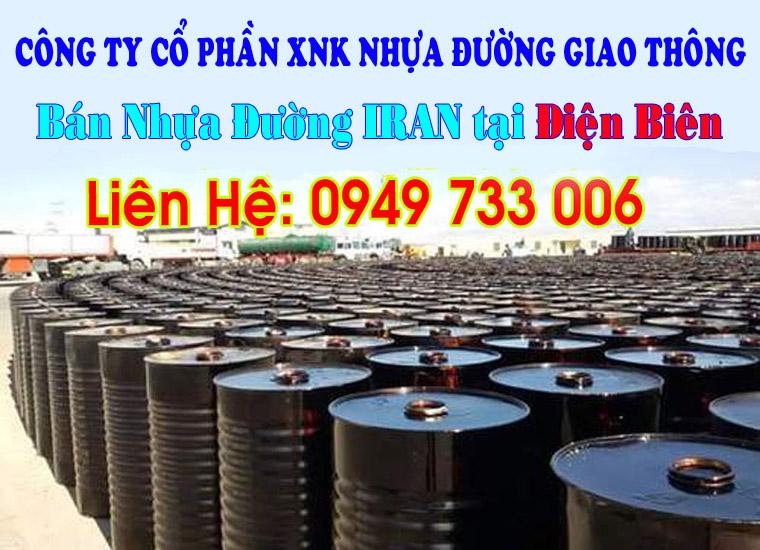 Bán nhựa đường IRAN tại Điện Biên