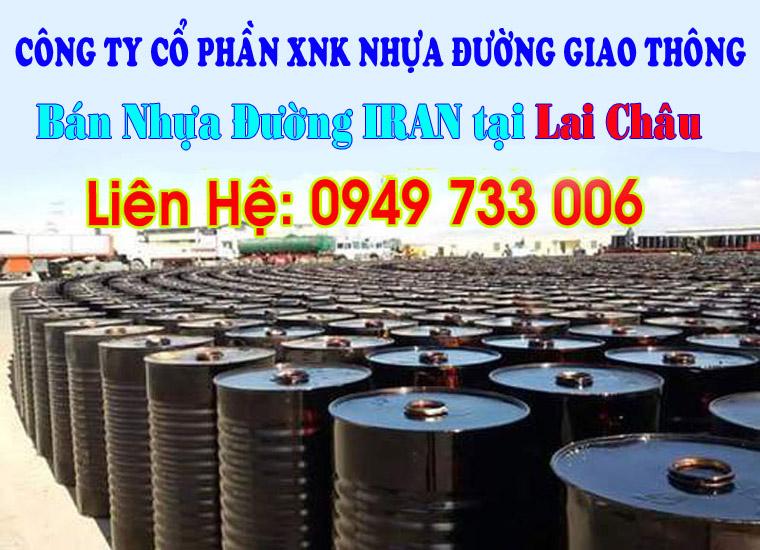 Bán nhựa Đường IRAN M60/70 tại Lai Châu
