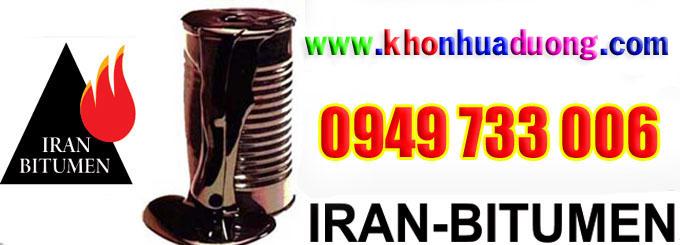 Thông báo giá nhựa đường IRAN tháng 01/2018