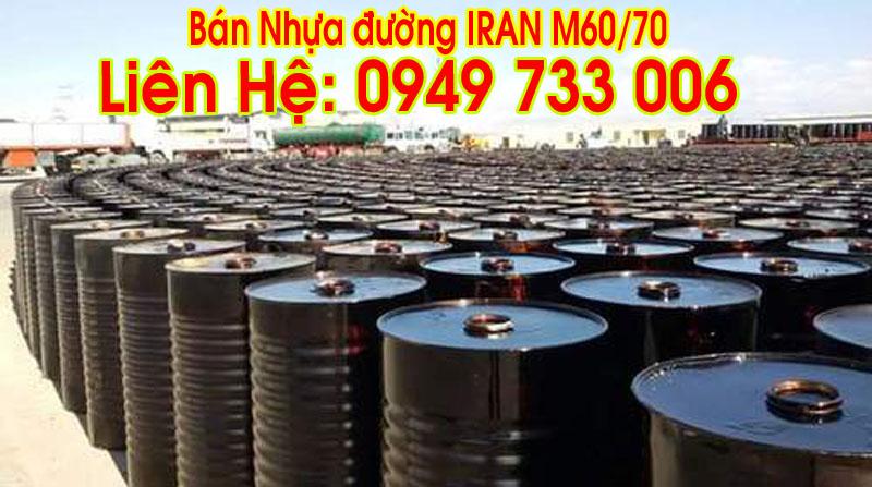 Bán nhựa đường IRAN tháng 11/2016