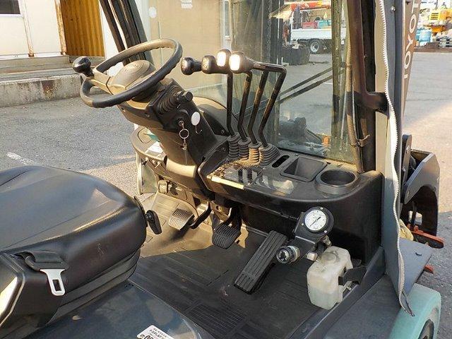 Xe nâng gas cũ Toyota Model 02-8F30 , năm sx 2014, hàng đẹp, chính hãng, giao nhanh