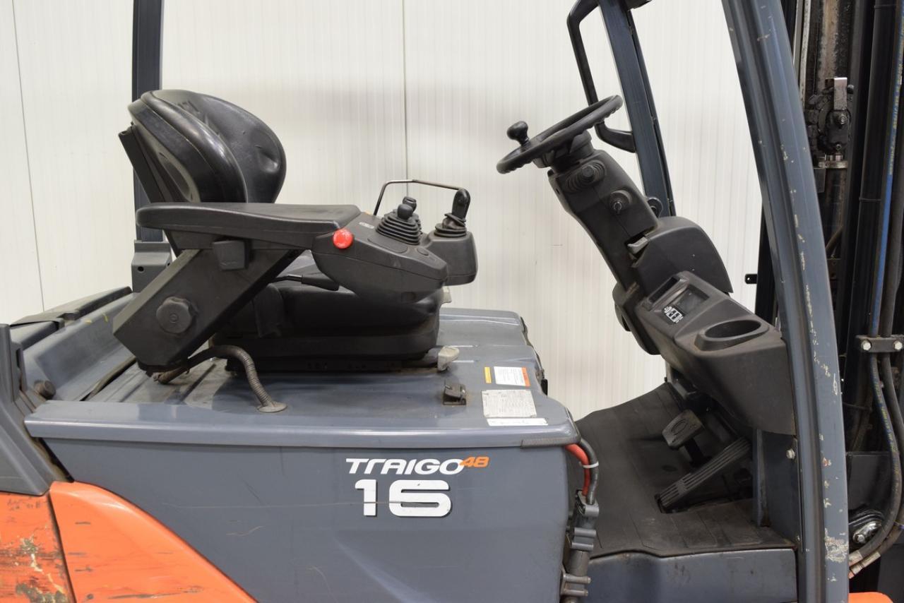 Bảng điều khiển Xe nâng điện 3 bánh Toyota 8FBE Series