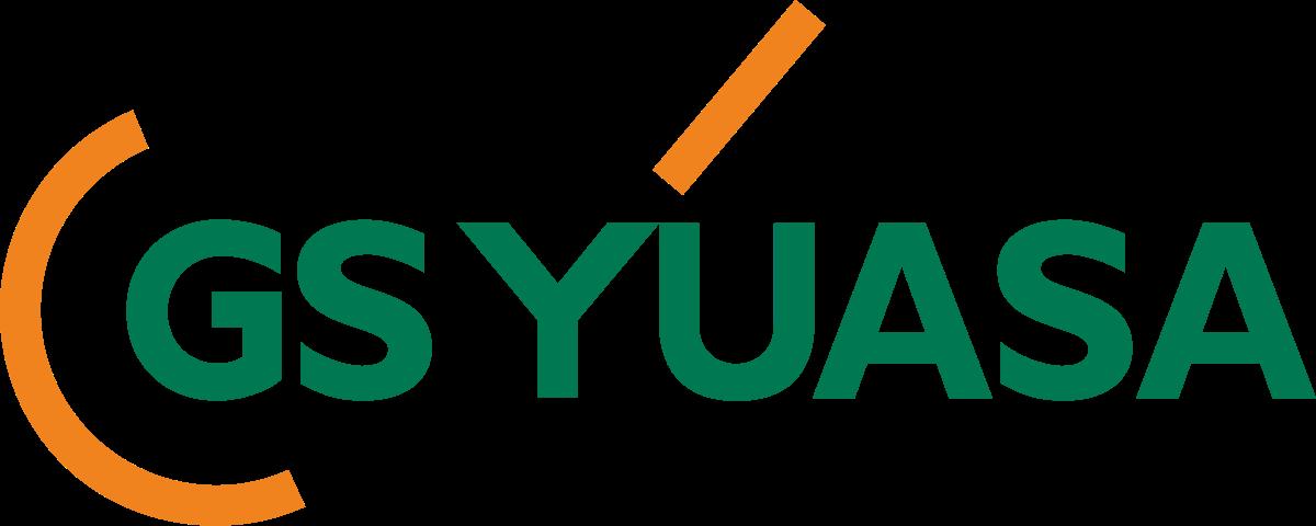 Logo ăc quy xe nâng GS Yuasa chính hãng