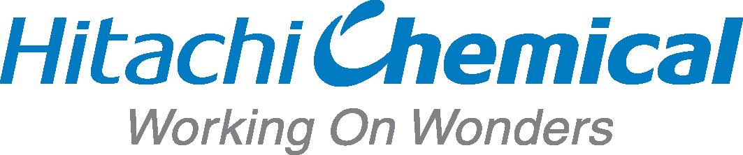 Logo ăc quy xe nâng Hitachi chính hãng
