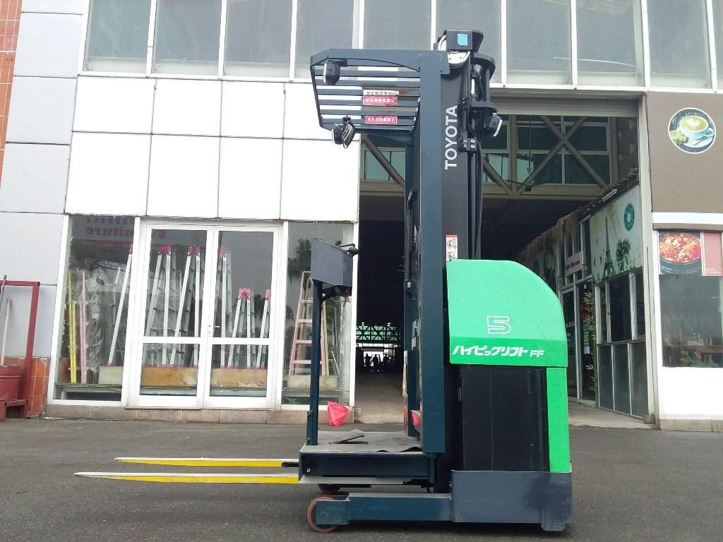Xe nâng điện Toyota 7FBPR5, 2012, V3500, SK 7FBP9-10613