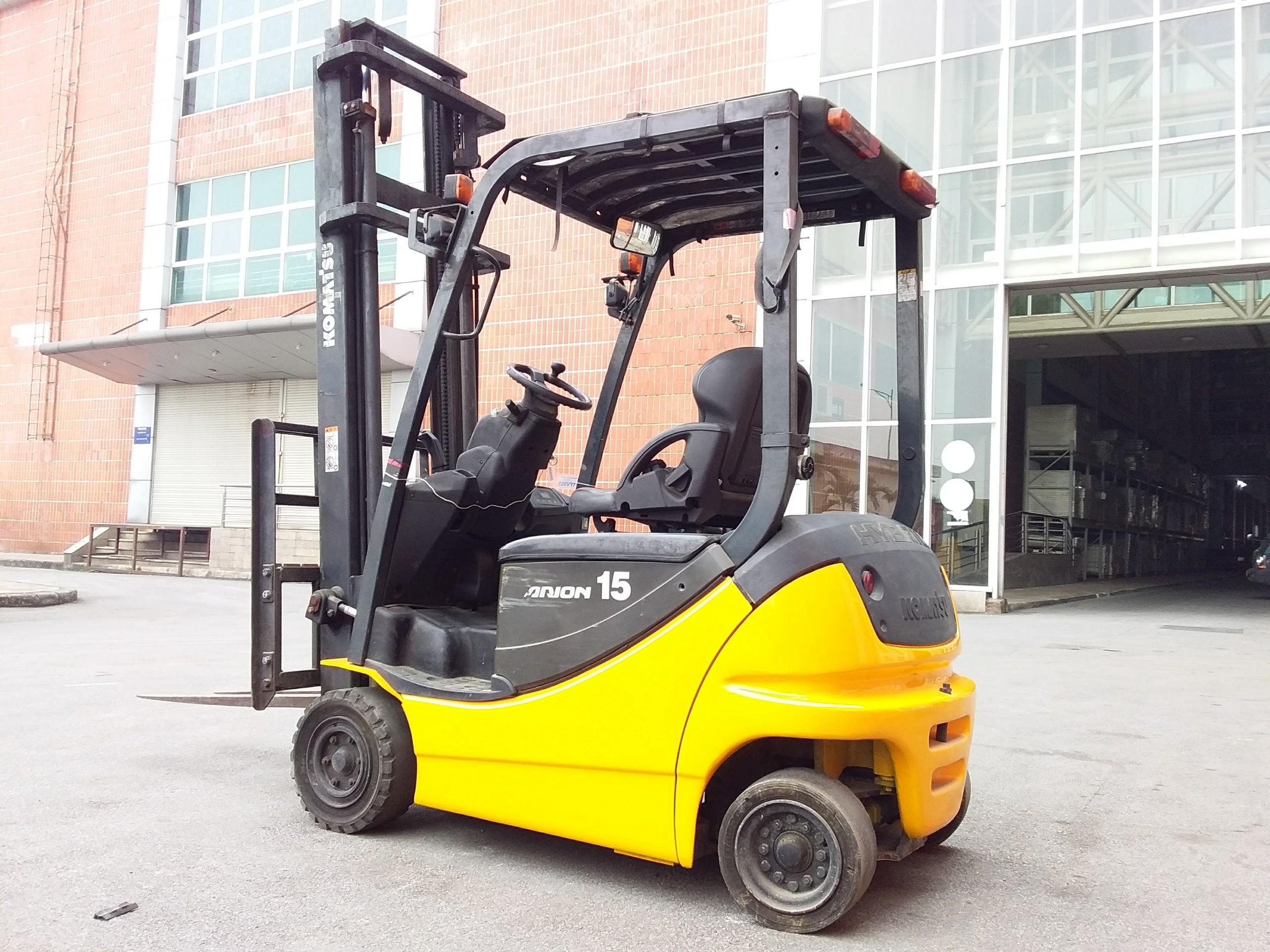 Xe nâng điên Komatsu 1,5t,v3000,2010,model FB15HB-12, Số khung 838446