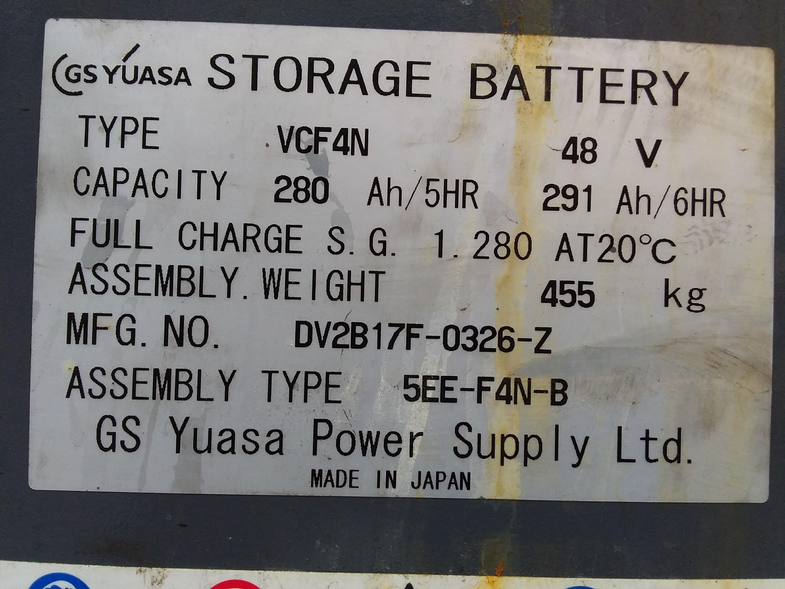 xe nâng điện cũ đứng lái 7FBR15,V4000,2007, Giá rẻ, sẵn hàng.