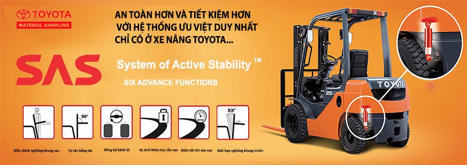 Hệ thống an toàn SAS với sau chức năng tiêu biểu của xe Toyota
