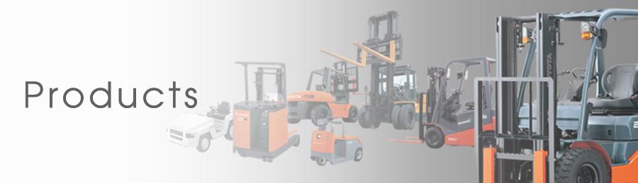 chủng loại sản phẩm cung cấp của Toyota Industries