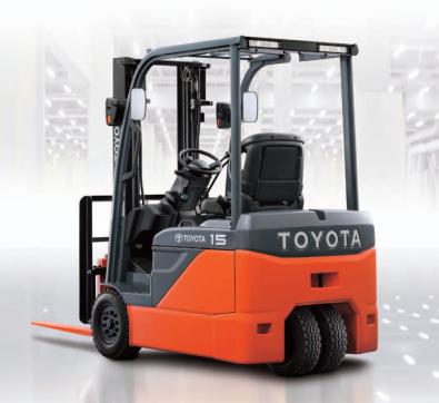 Xe nâng điện Toyota 8FBE15