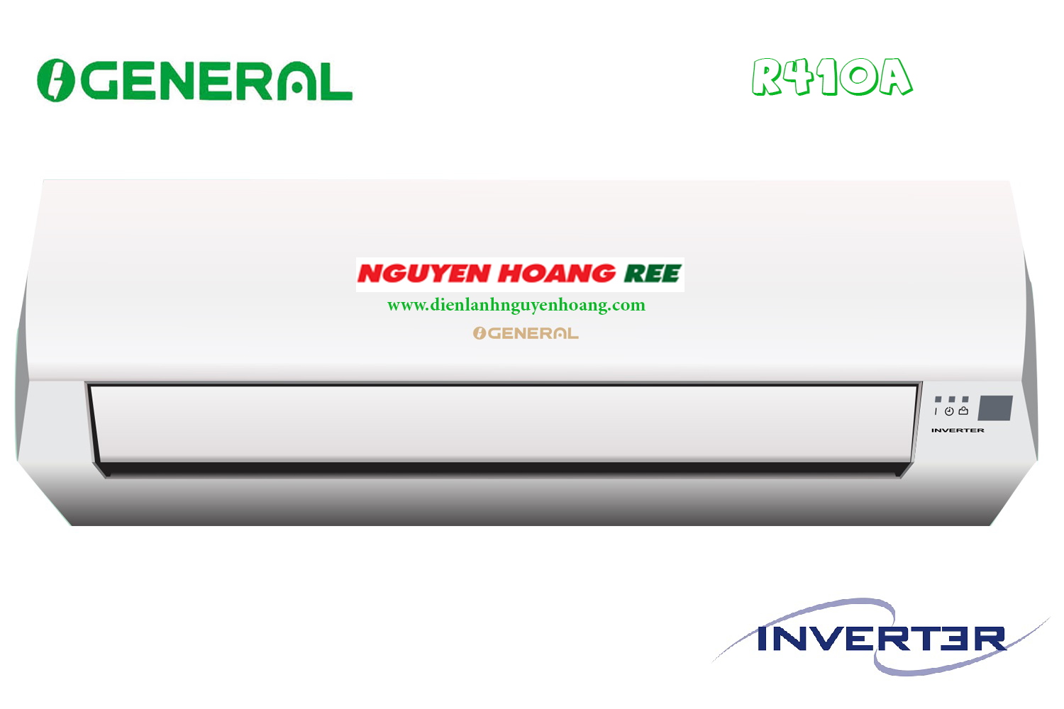 General ASGG 24JI [ Inverter - 2,5HP]