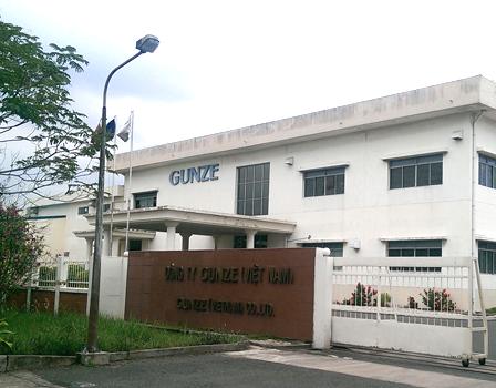 Công ty Gunze Việt Nam_KCX Tân Thuận, Quận 7, TP.HCM