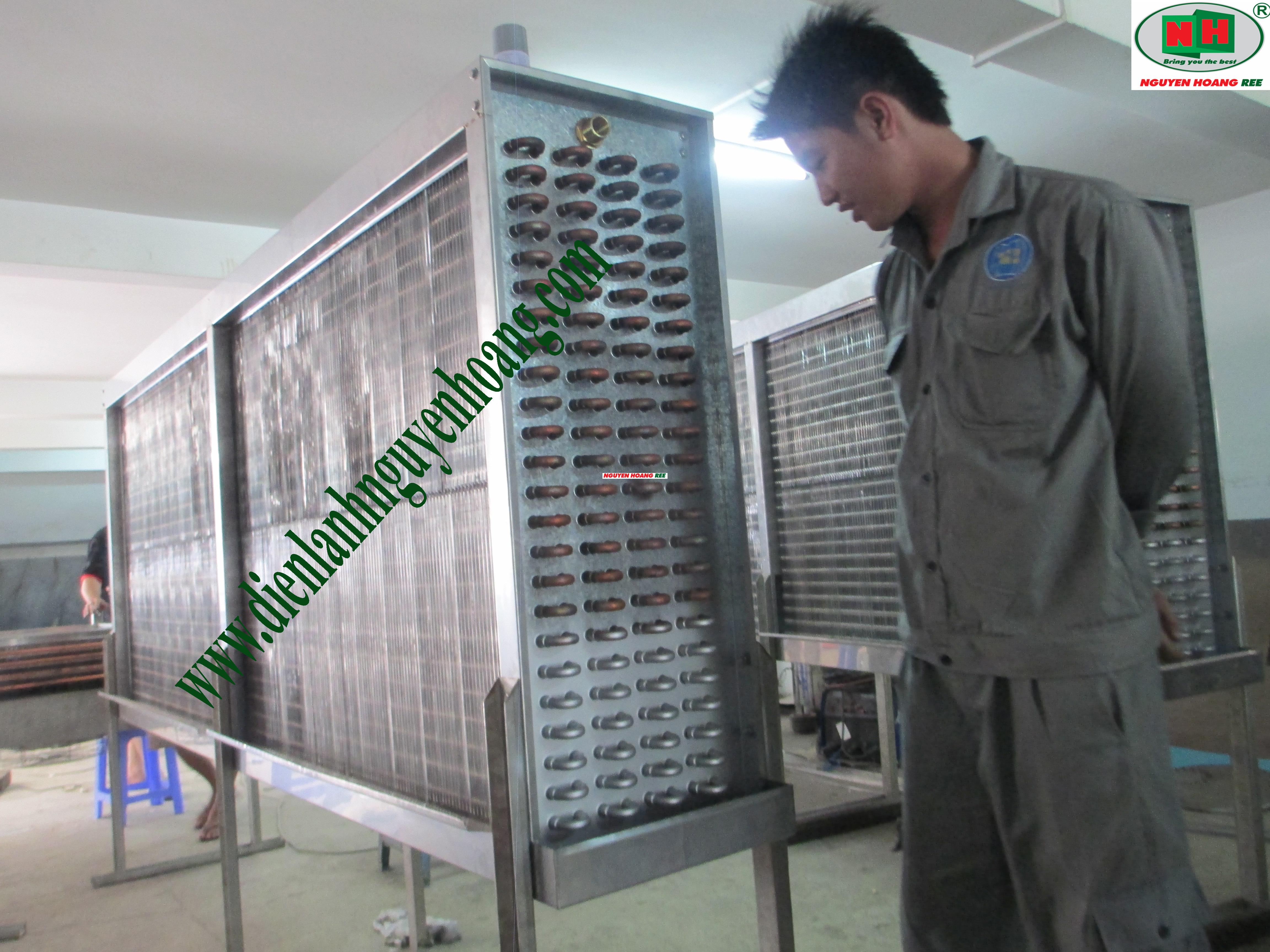 Nguyenhoang Ree Co., Ltd chuyên sản xuất gia công dàn lạnh, dàn nóng theo yêu cầu
