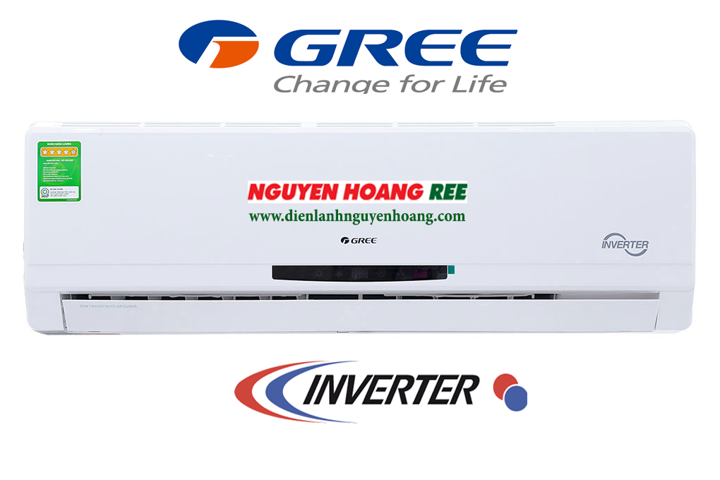 Máy lạnh Gree GWC12MA [Inverter - Gas R410A]