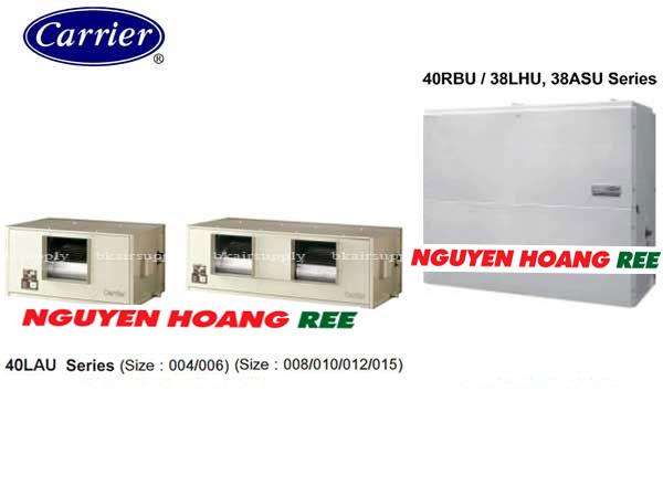 Tủ đứng nối ống gió Carrier 38ASU200S301/40RBU020X