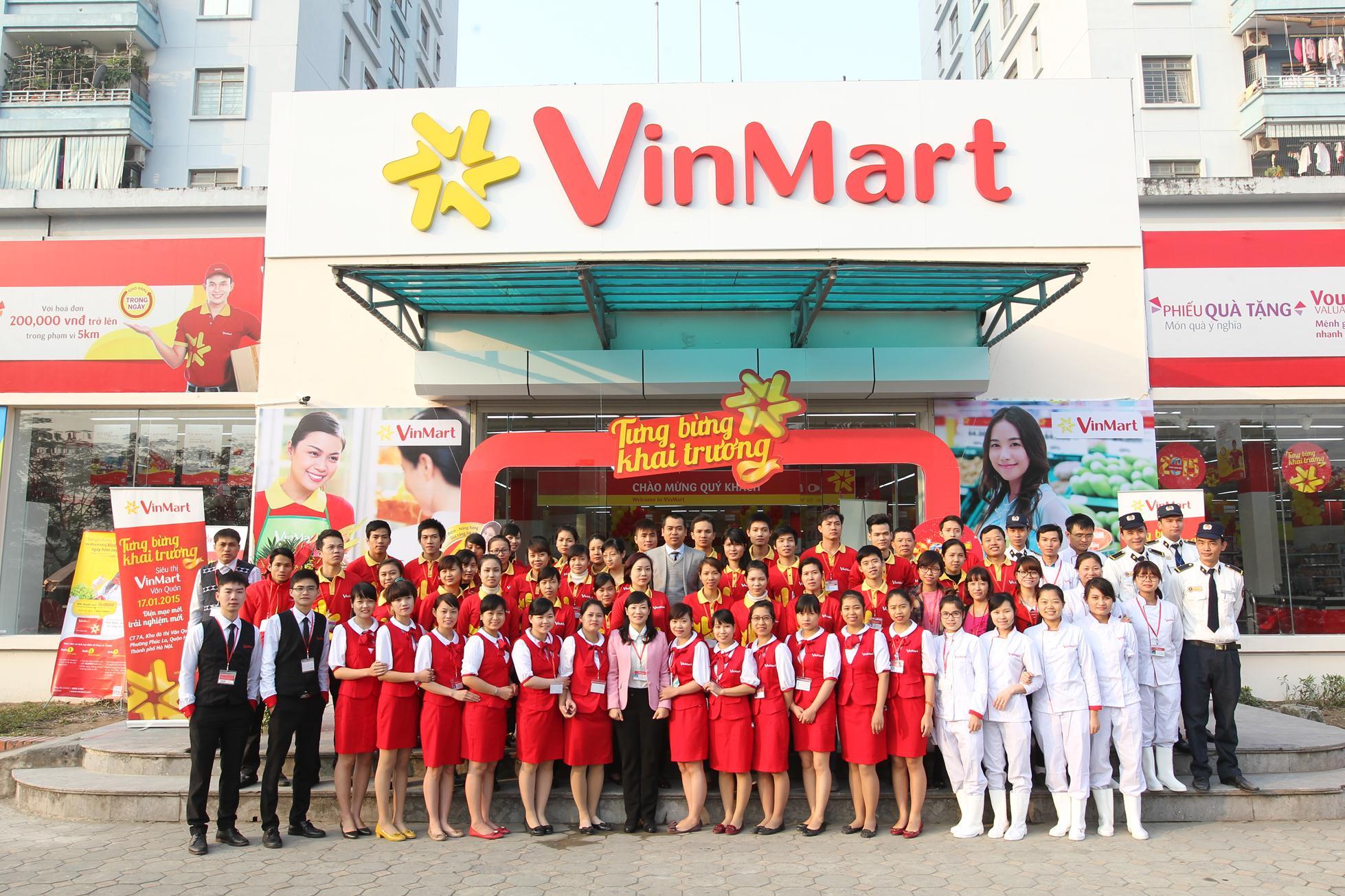 Chuỗi 500 siêu thị tiện ích Vinmart+ khu vực TP.HCM
