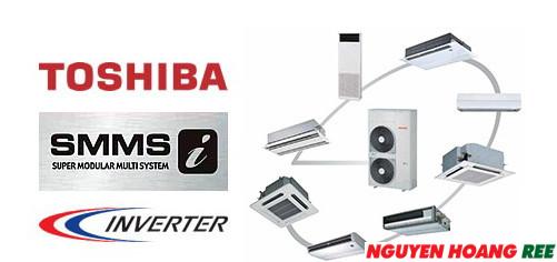 VRF Toshiba SMMS-e [  Inverter - Gas R410A]