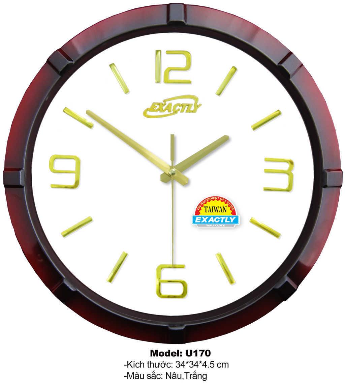 đồng hồ treo tường U170 | dong ho treo tuong