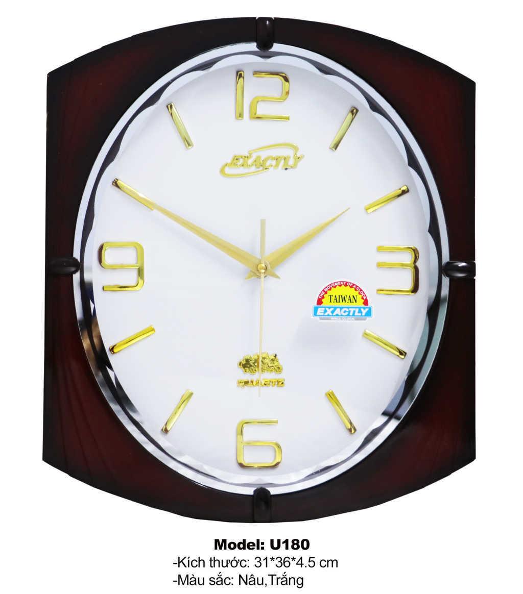 đồng hồ treo tường U180 | dong ho treo tuong