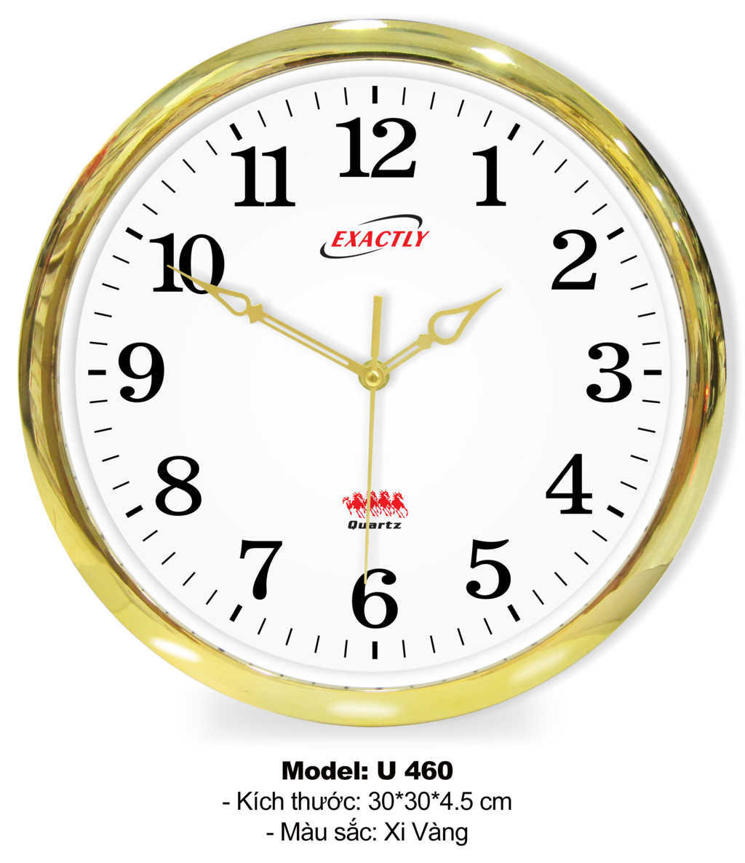 Model U460 xi vàng đồng hồ sang trọng giá rẻ