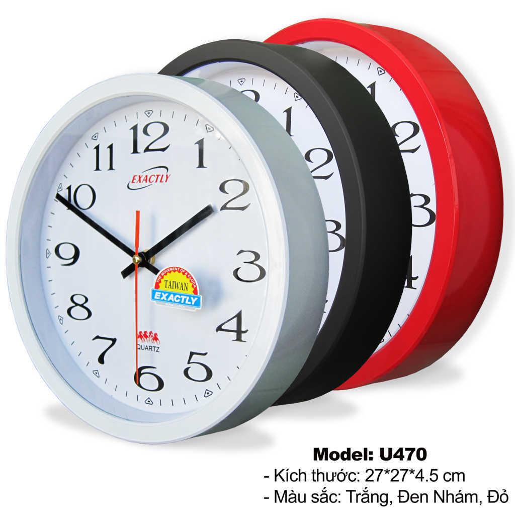sản xuất đồng hồ treo tường giá rẻ U470