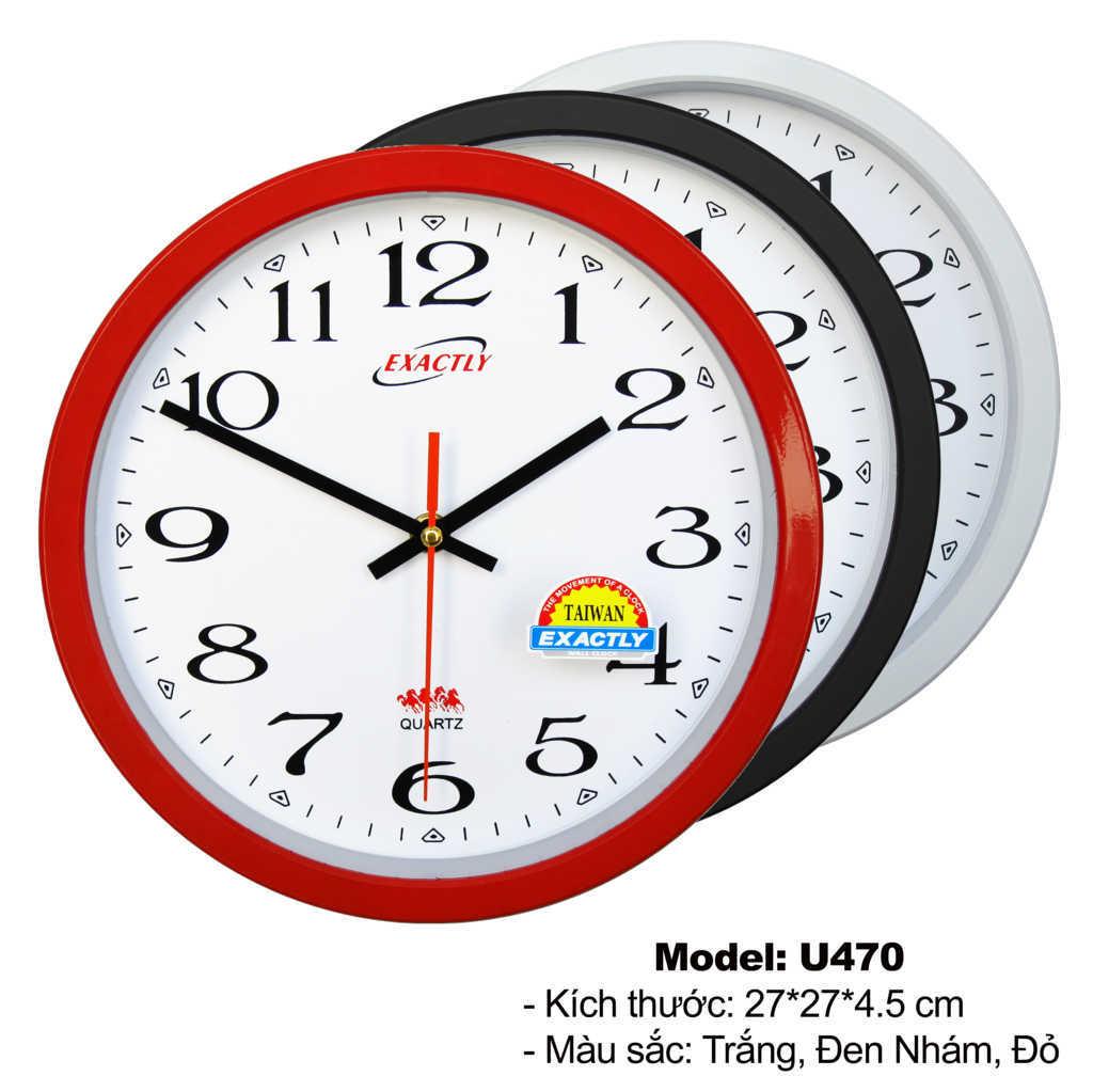 Đồng hồ treo tường quà tặng giá rẻ U470