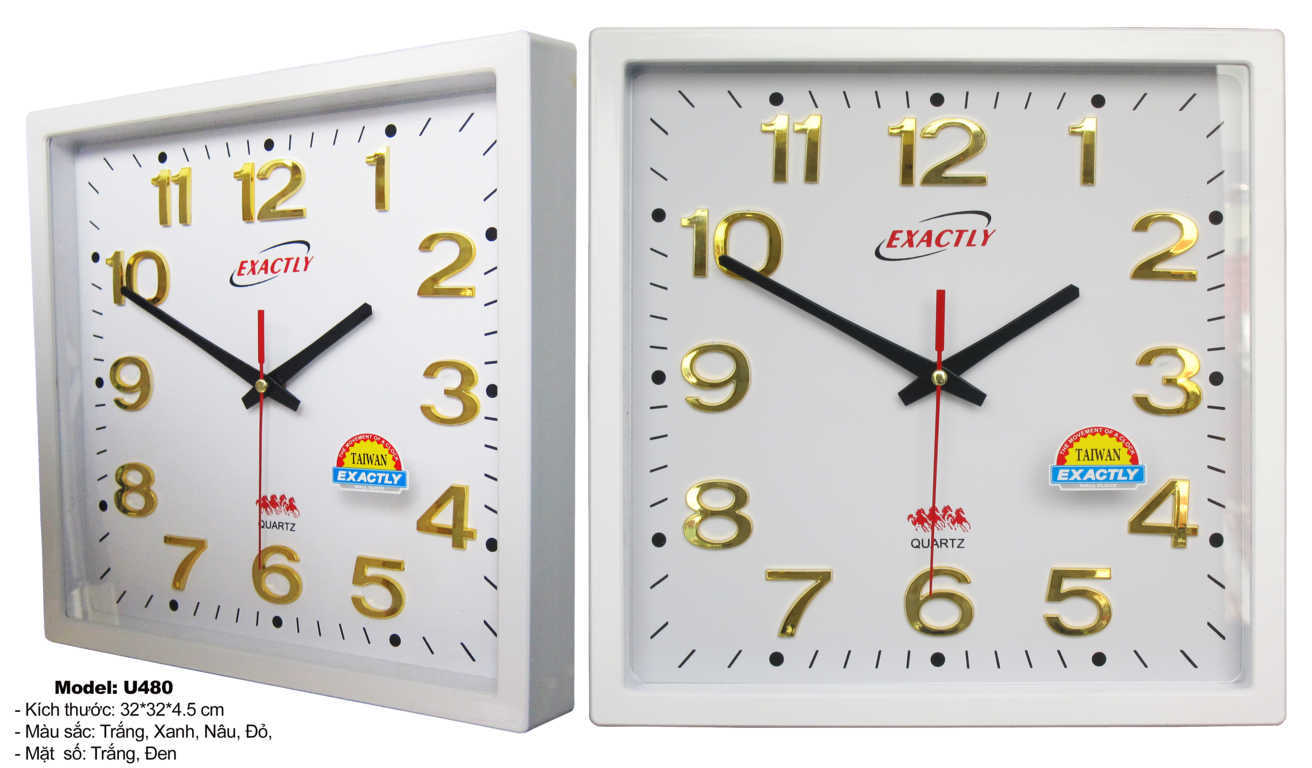 đồng hồ treo tường kim thủy đẹp giá rẻ