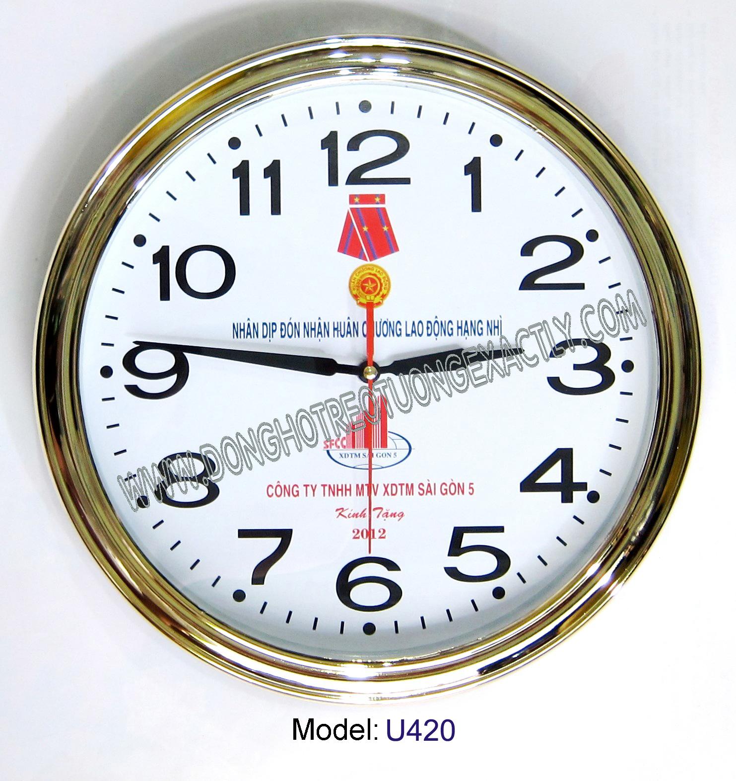 Đồng hồ Treo tường một món quà tặng ý nghĩa