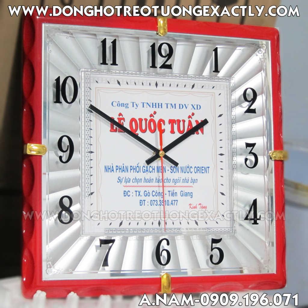 đồng hồ quà tặng khách hàng trang trí nội thất Bình Dương