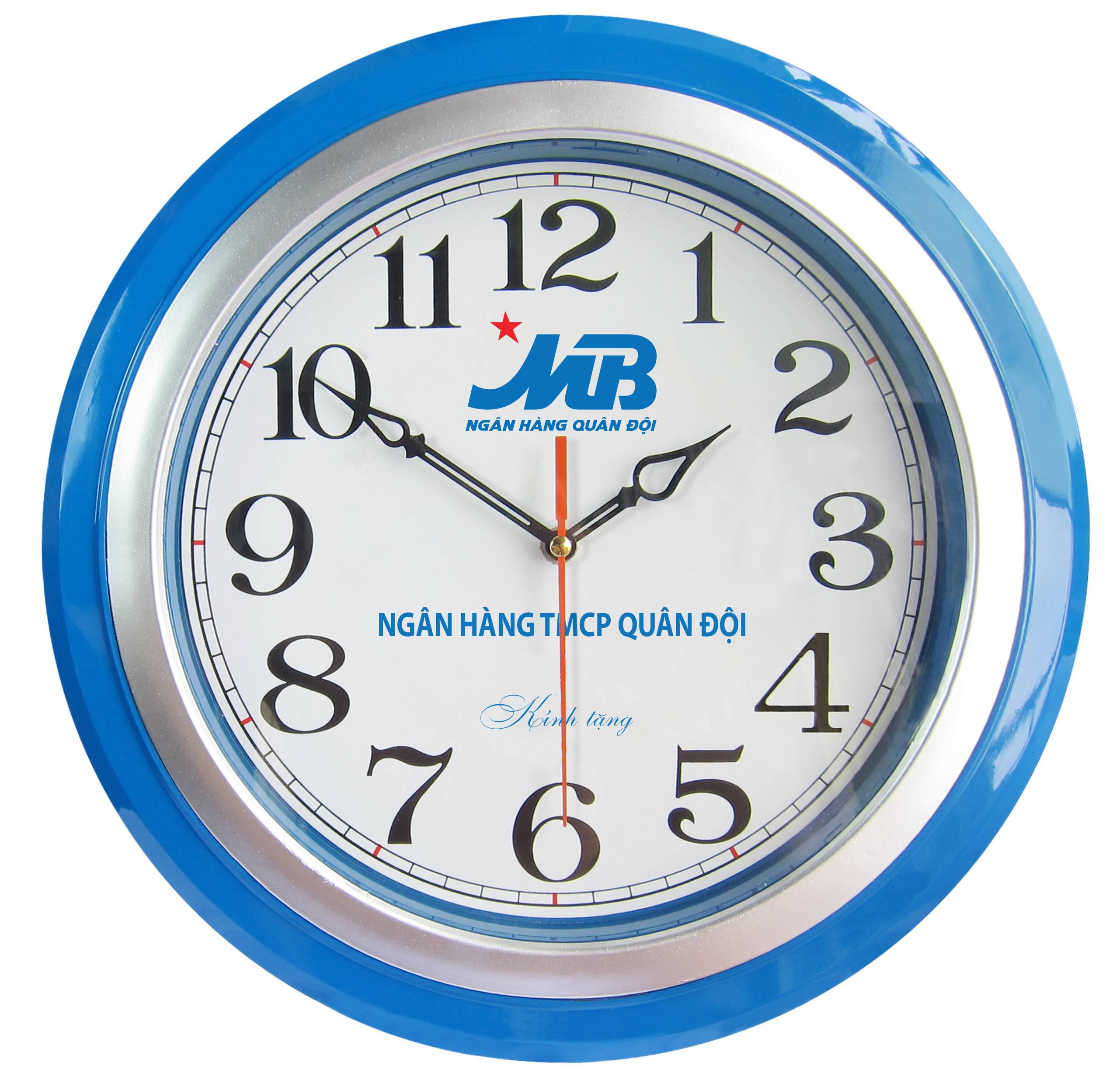 đồng hồ MB bank trang trí nội thất