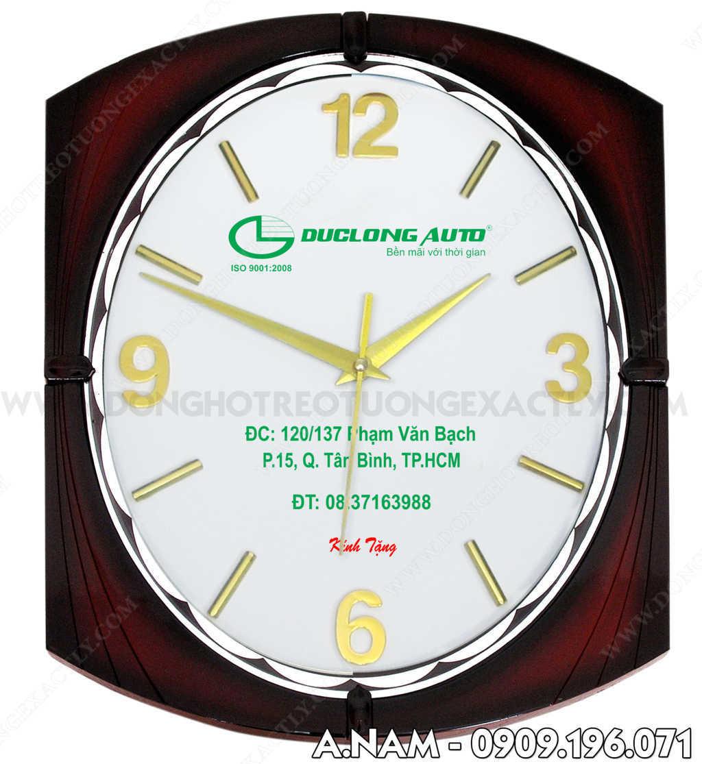 quà tặng đồng hồ treo tường từ auto hoàng long xe tải