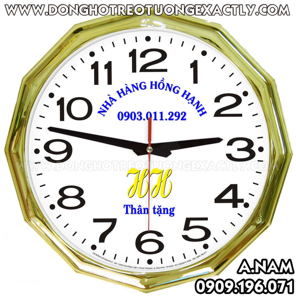 quà tặng đồng hồ treo tường uy tín chất lượng giá rẻ