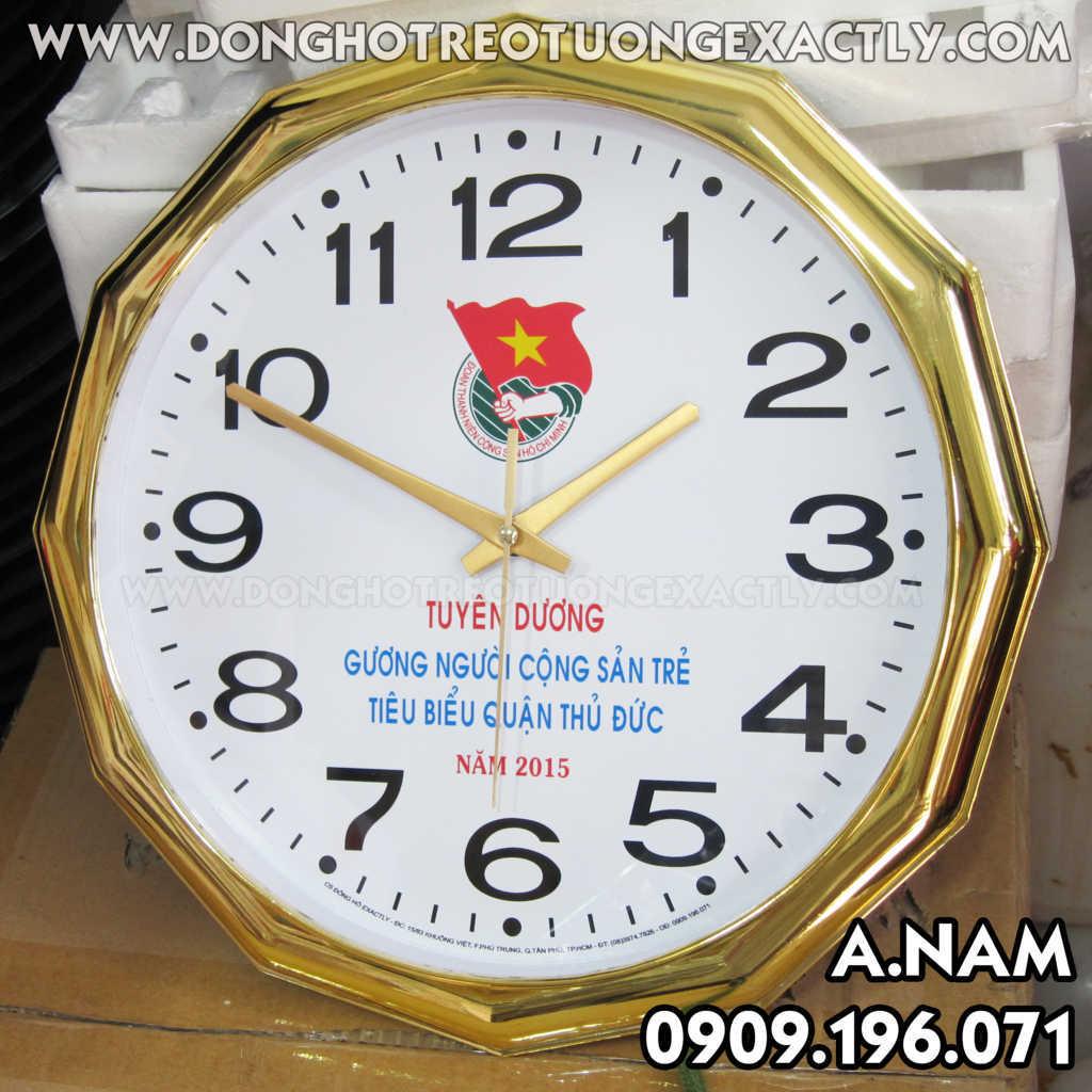 Đồng hồ treo tường quận đoàn thanh niên dân vận khéo