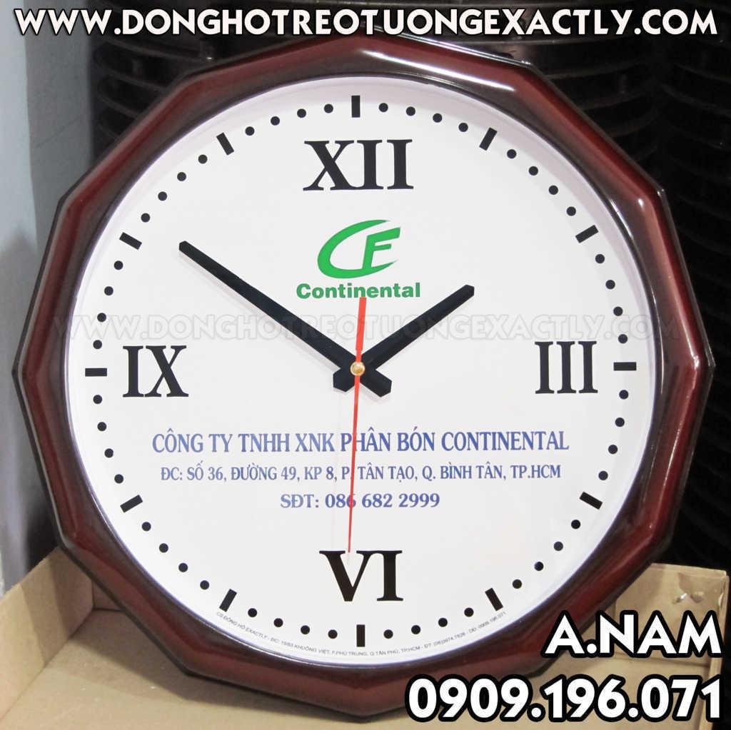 đồng hồ quà tặng kỷ niệm thành lập công ty CONTINENT