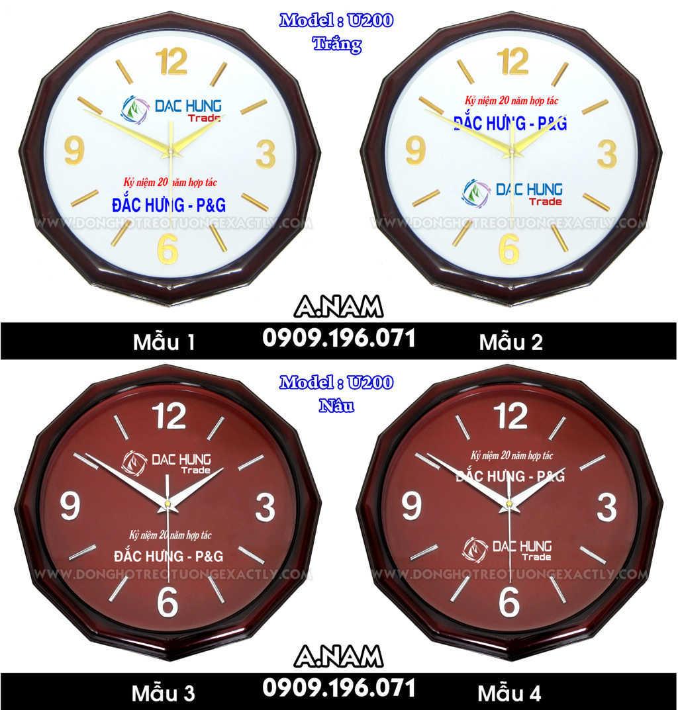 đồng hồ chuyên nghiệp quà tặng kỷ niệm hợp tác giữa đắc hưng và P&G
