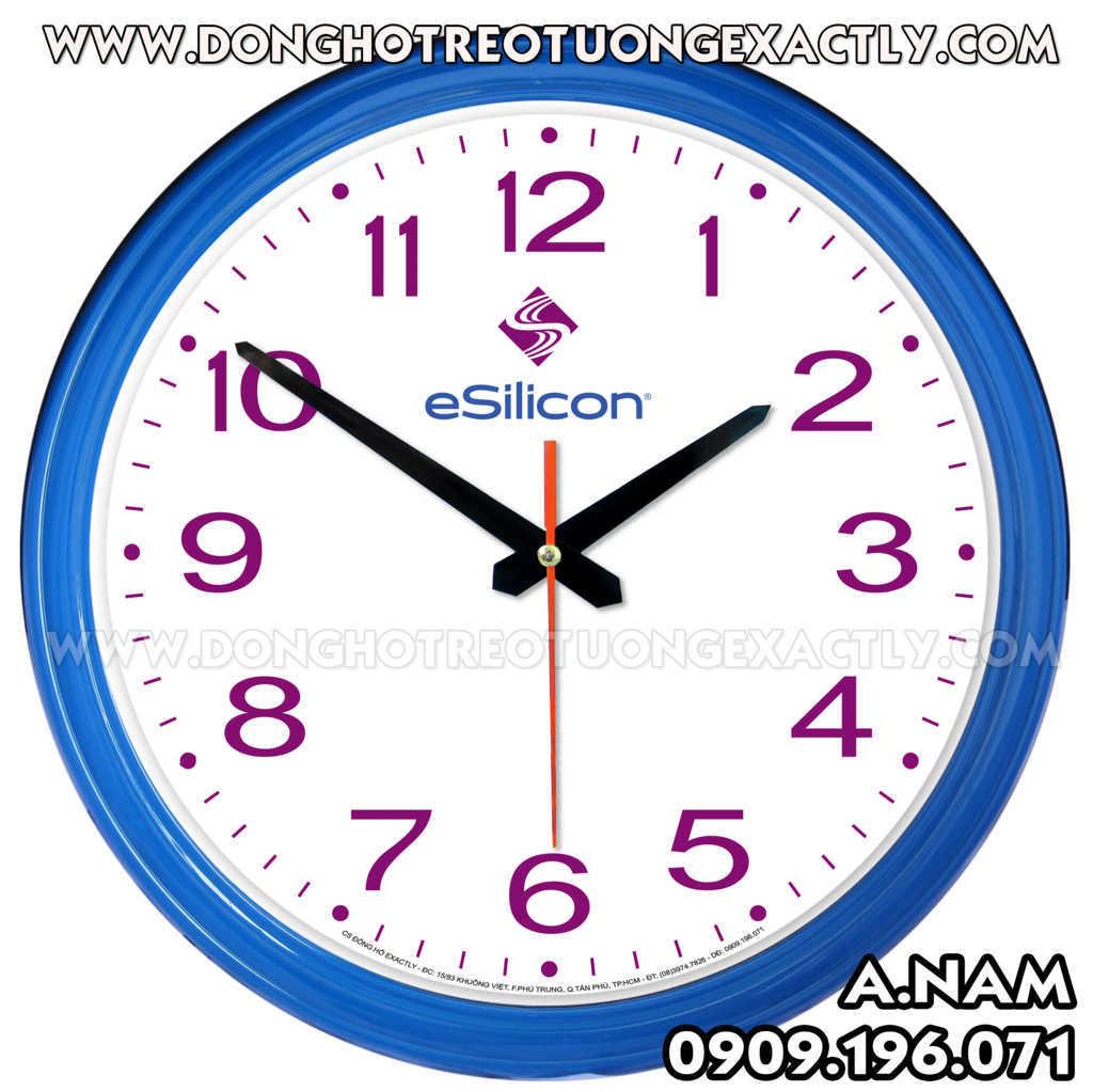 đồng hồ văn phòng phẩm công ty esilicon việt nam