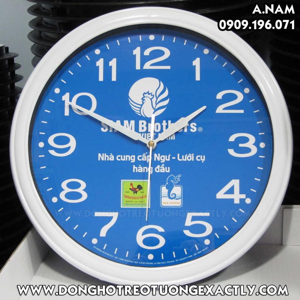 đồng hồ treo tường kỷ niệm siam brother cung cấp ngư nông lưới cụ
