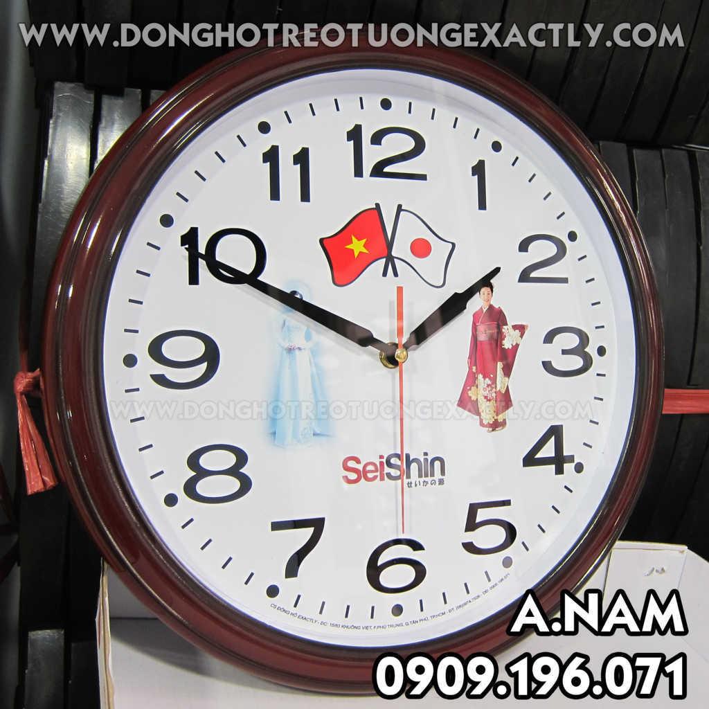 đồng hồ treo tường tại công ty seishi nhật bản
