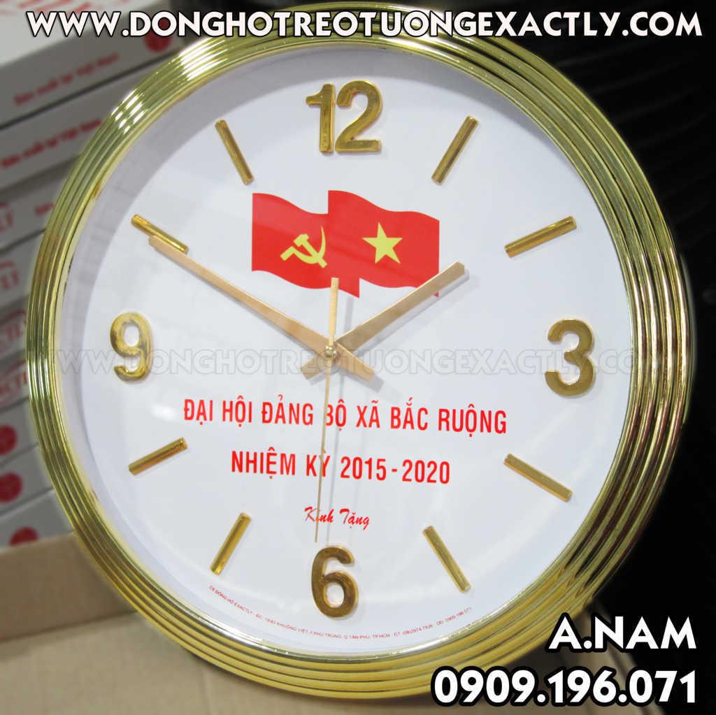 đồng hồ kẻ niệm đại hội đảng xã bắc ruộng