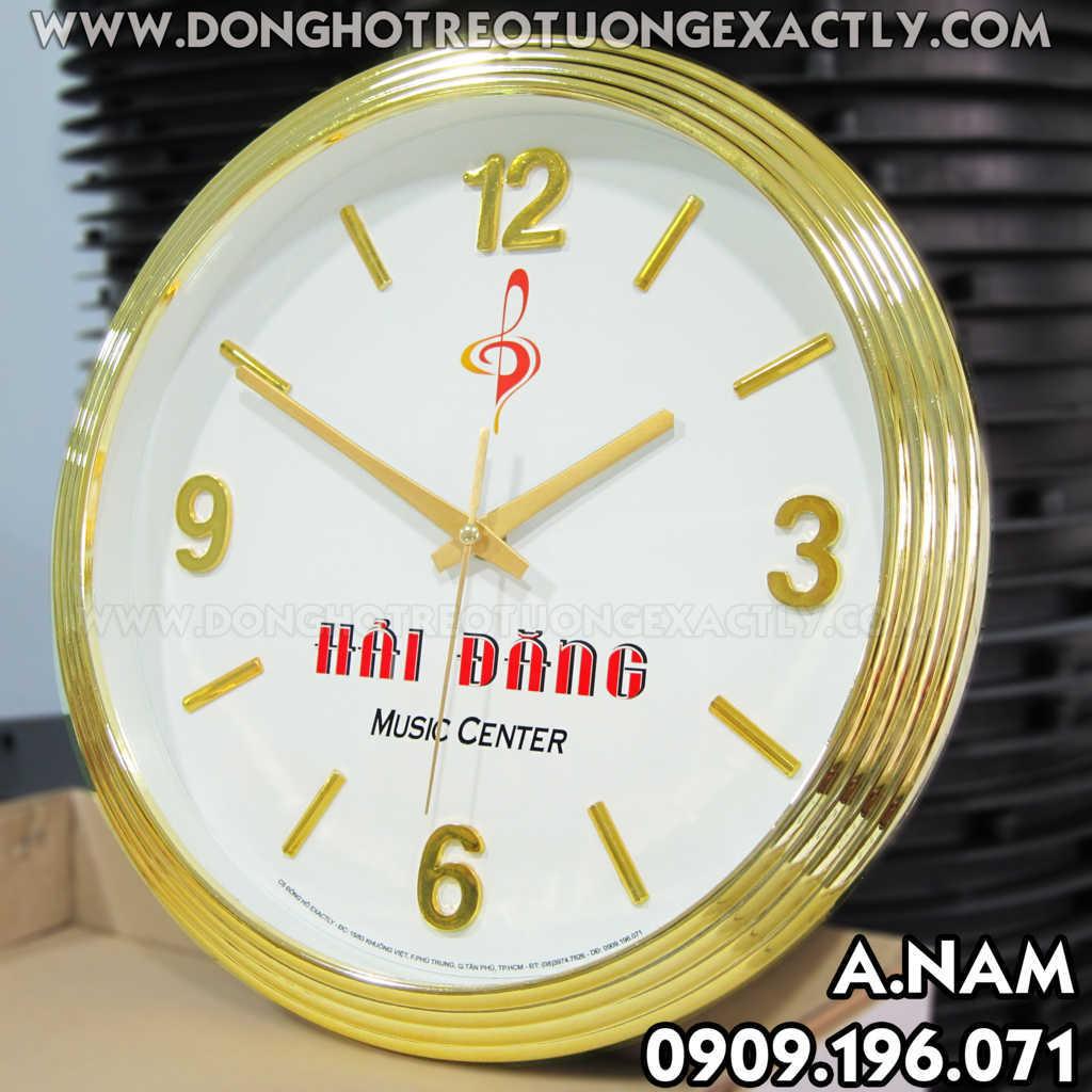 đồng hồ treo cửa hàng đẹp độc giá rẻ