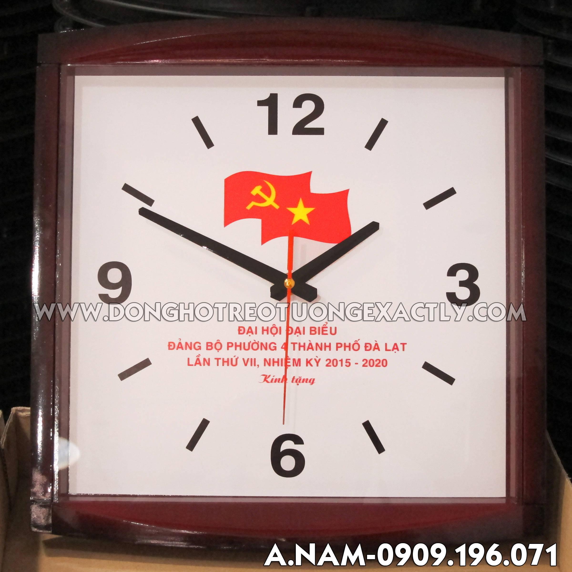 đồng hồ treo tường nam sánh Đại hội đại biểu thành phố đà lạt