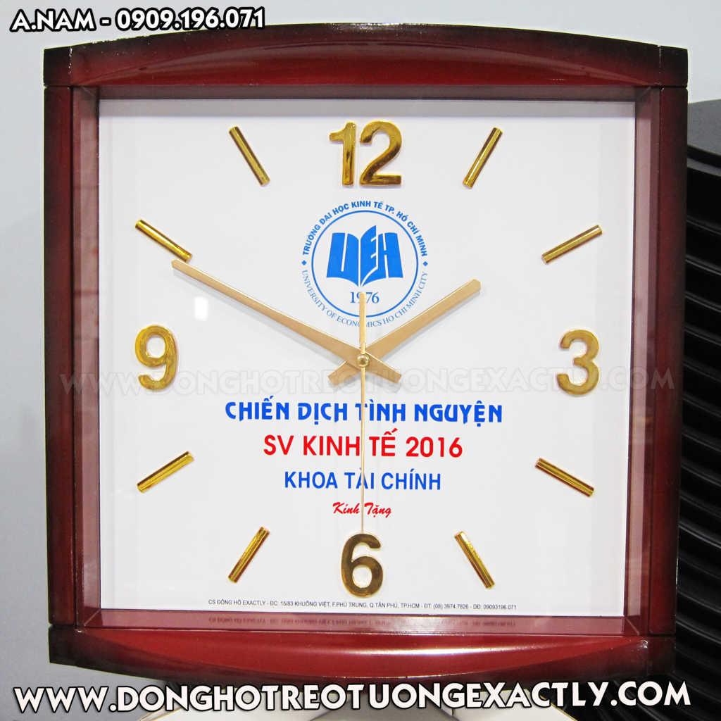 đồng hồ quà tặng đại học kinh tế sinh viên tình nguyện mùa hè xanh