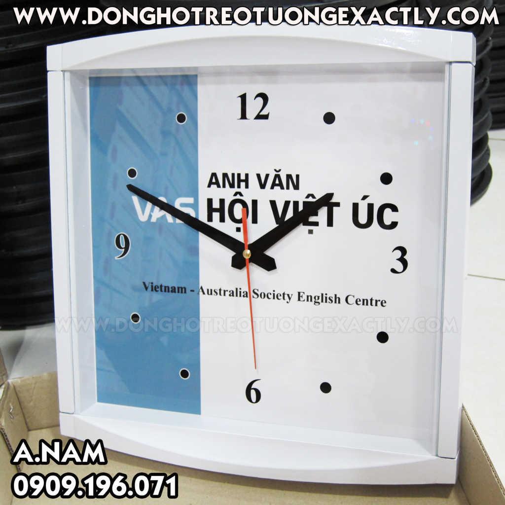 sản xuất đồng hồ quà tặng giá rẻ trường anh ngữ vas hội việt úc