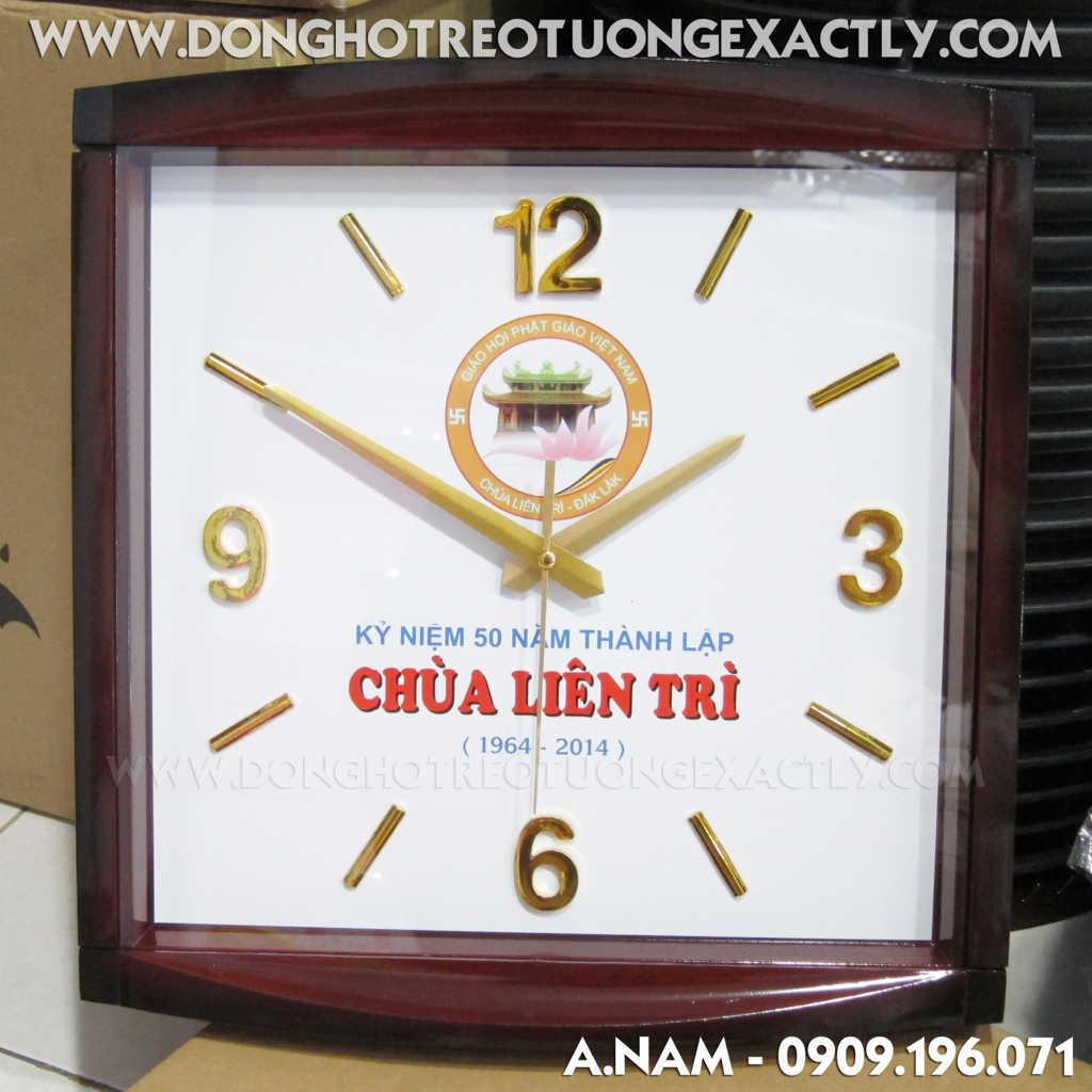 đại hội điển hình Huyện Giá Rai tặng đồng hồ treo tường
