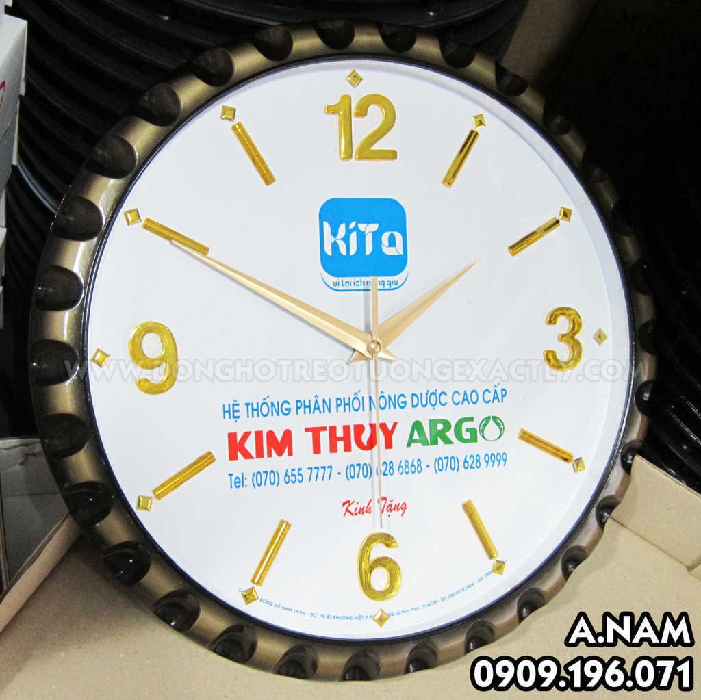 đồng hồ treo tường kim thủy đẹp gái rẻ